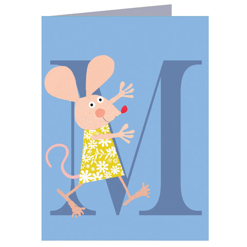 M for Mouse Card
