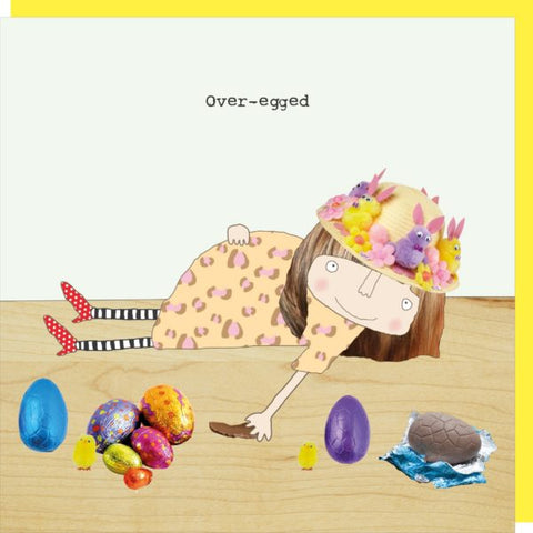 Over-Egged Card