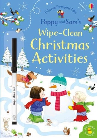 Poppy and Sam's Wipe-Clean Christmas Activities by Sam Taplin