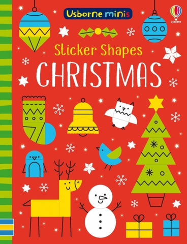 Sticker Shapes: Christmas by Sam Smith
