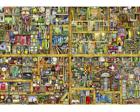 Shelf Life 250 Piece Wooden Jigsaw Puzzle