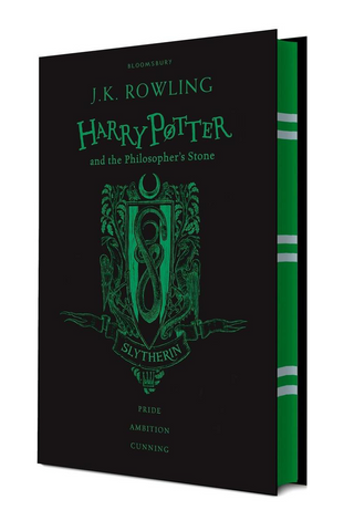 Slytherin Ed. - Harry Potter Book 1: Harry Potter and the Philosopher's Stone
