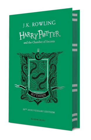 Slytherin Ed. - Harry Potter Book 2: Harry Potter and the Chamber of Secrets