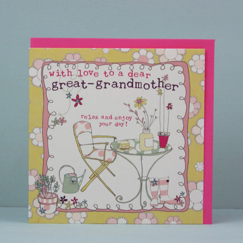 Great-Grandmother Card