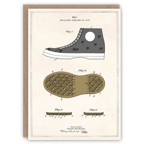 Converse Rubber Sole Card