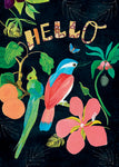 Tropical Hello Card