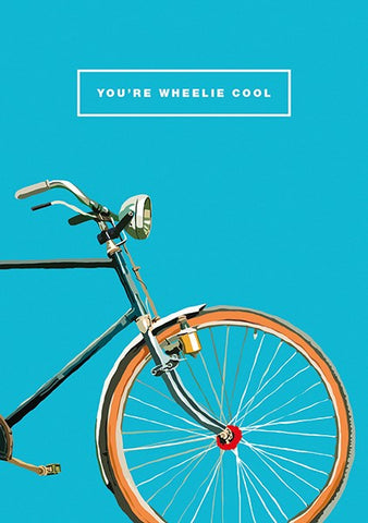 Wheelie Cool Card