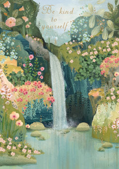 Waterfall Kindness Card