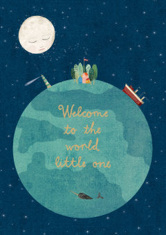Welcome World Card