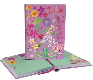Wild Verge Softback Journal with Illustrated Pages
