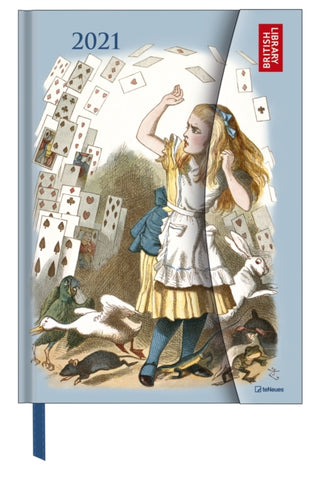 2021 Alice in Wonderland Large Magneto Diary
