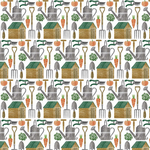 Allotment Wrapping Paper