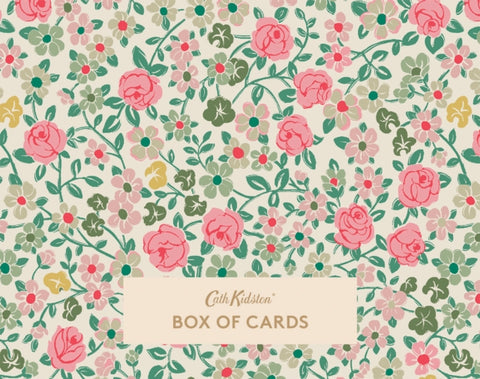 Cath Kidston Hedge Rose Boxed Notecards: 16 notecards and matching envelopes by Cath Kidston