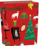 Fireside Cats Small Bag