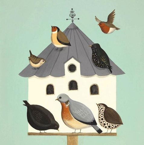 Dawdling On The Dovecote Card