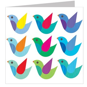 Bird Nonet Card