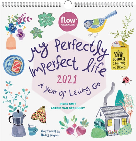 My Perfectly Imperfect Life 2021 Calendar - A Year of Letting Go