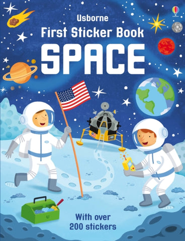 First Sticker Book: Space by Simon Tudhope
