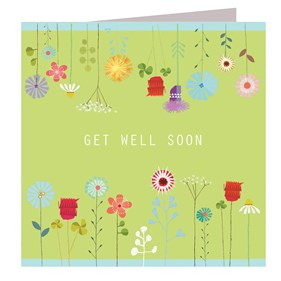 Get Well Soon Card by Kali Stileman