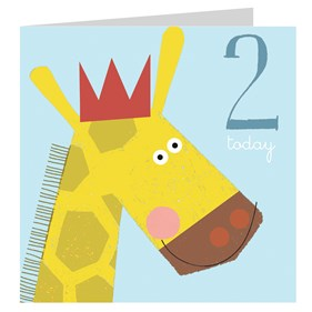Giraffe 2 Today Card