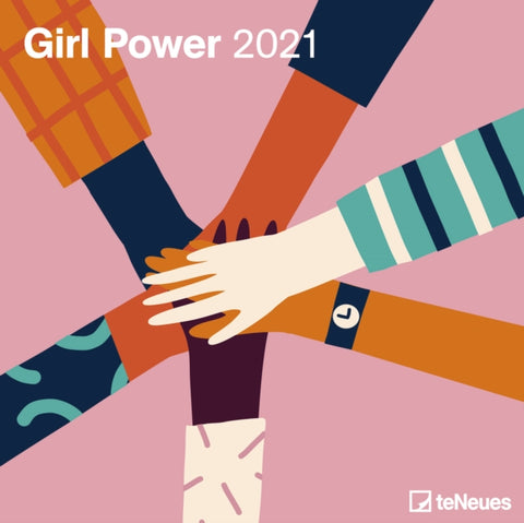 2021 Girl Power Grid Calendar