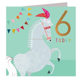 6 Today Horse Card by Kali Stileman
