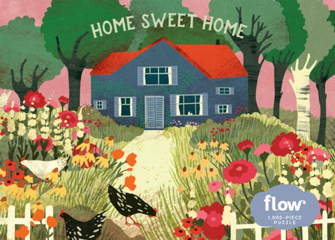 Home Sweet Home 1000 Piece Jigsaw Puzzle by Irene Smit