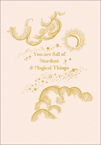 Stardust & Magical Things Card
