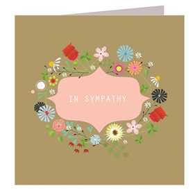 In Sympathy Card by Kali Stileman