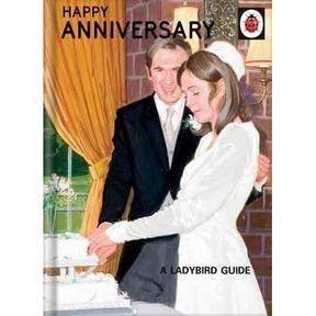 Ladybird Happy Anniversary Card