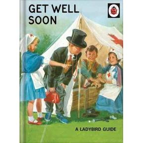 Ladybird Get Well Soon Card