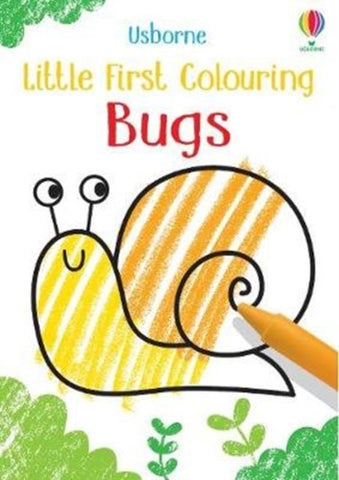 Little First Colouring: Bugs