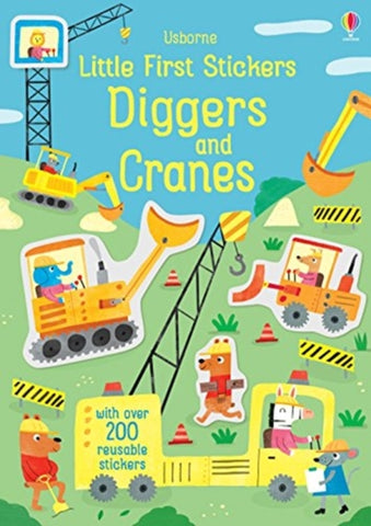 Little First Stickers: Diggers and Cranes by Hannah Watson