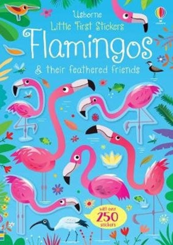 Little First Stickers: Flamingos
