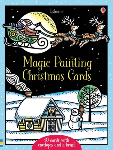 Magic Painting Christmas Cards by Fiona Watt