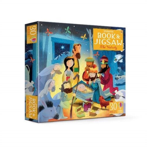 The Nativity: Book and 30 Piece Jigsaw Puzzle