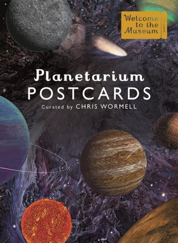 Planetarium Postcards by Raman Prinja
