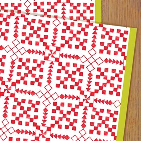 Scandi Wrapping Paper by Kali Stileman