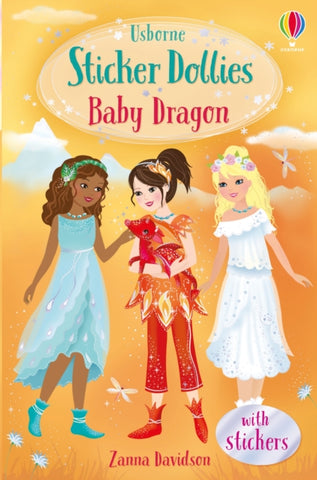 Sticker Dolly Stories: Baby Dragon