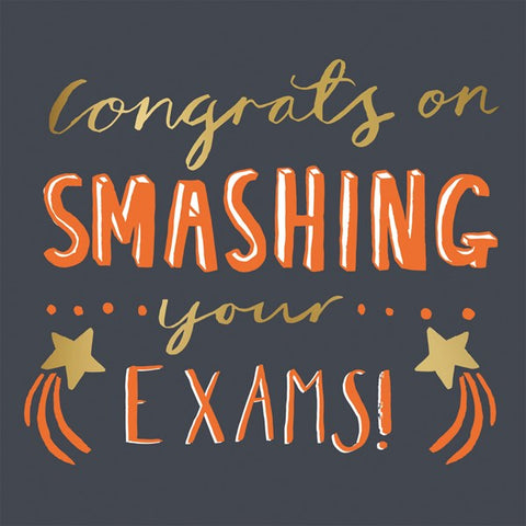 Smashing Your Exams Card