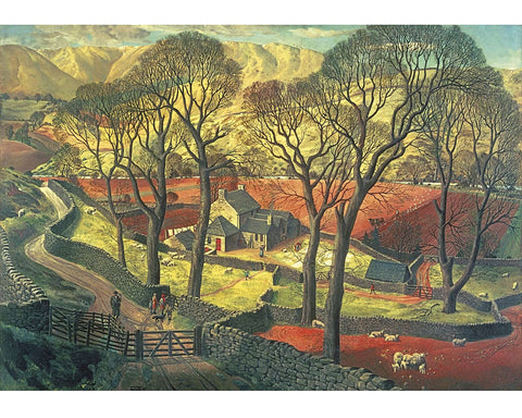 Springtime in Eskdale 40 Piece Mini Wooden Jigsaw Puzzle