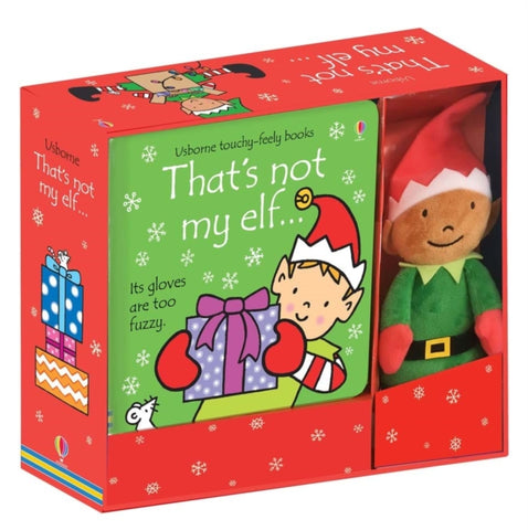 That's Not My Elf: Book and Toy by Fiona Watt