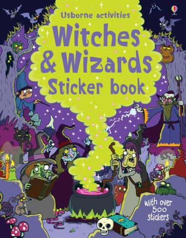 Witches & Wizards Sticker Book