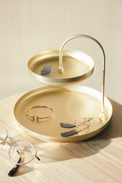 Jewelry Trays | color: Brass | Hover