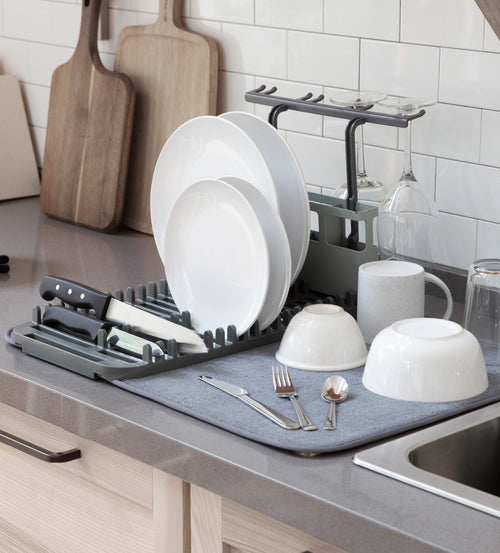 Dish Racks | color: Charcoal | Hover