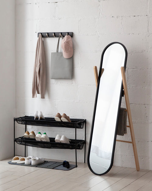 Floor Mirrors | color: Black-Natural | Hover