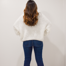 Load image into Gallery viewer, White Christmas Sweater - Love and Neutrals