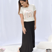 Load image into Gallery viewer, Be Happy Rainbow Tee - Love and Neutrals - Boutique