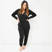 Load image into Gallery viewer, Cozy Daze Jumpsuit - Love and Neutrals