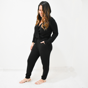 Cozy Daze Jumpsuit - Love and Neutrals